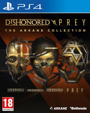 Cover Dishonored and Prey: The Arkane Collection