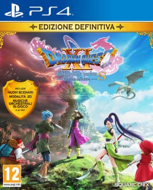 Cover Dragon Quest XI S: Echoes of an Elusive Age - Definitive Edition (PS4)