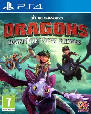 Cover DreamWorks Dragons Dawn of New Riders