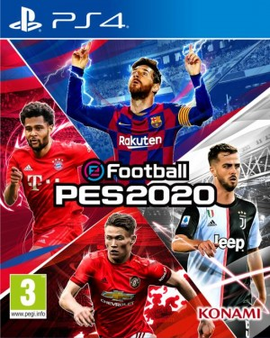 Cover eFootball PES 2020 (PS4)