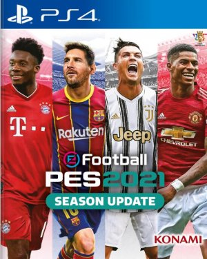 Cover eFootball PES 2021
