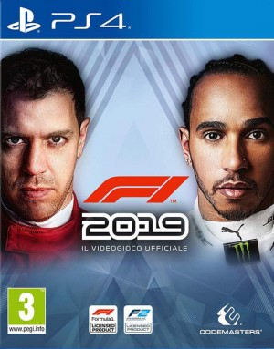 Cover F1 2019 (PS4)