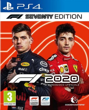 Cover F1 2020 (PS4)