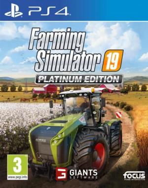 Cover Farming Simulator 19 Platinum Edition