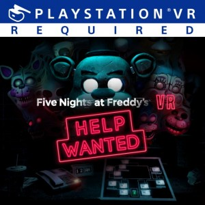 Cover Five Nights at Freddy's VR: Help Wanted (PS4)