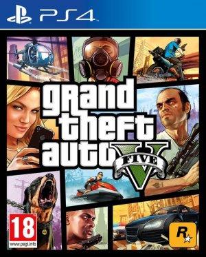 Cover Grand Theft Auto V (PS4)