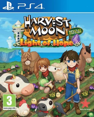Cover Harvest Moon Light of Hope Special Edition