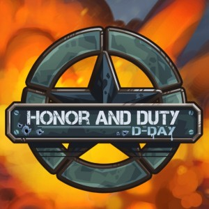 Cover Honor and Duty: D-Day