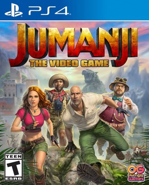 Cover Jumanji: The Video Game (PS4)