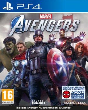 Cover Marvel's Avengers (PS4)