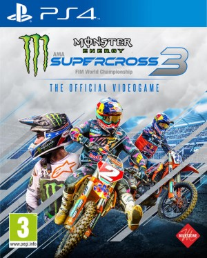 Cover Monster Energy Supercross - The Official Videogame 3 (PS4)