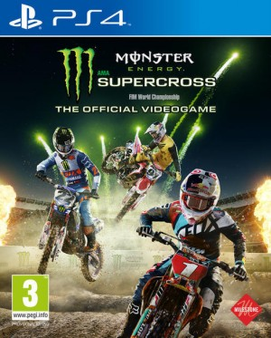 Cover Monster Energy Supercross - The Official Videogame