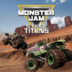 Cover Monster Jam Steel Titans (PS4)