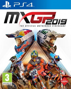 Cover MXGP 2019 - The Official Motocross Videogame (PS4)