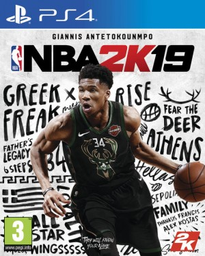 Cover NBA 2K19 (PS4)
