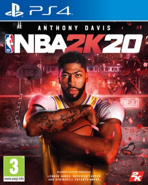 Cover NBA 2K20 (PS4)