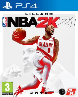 Cover NBA 2K21 (PS4)