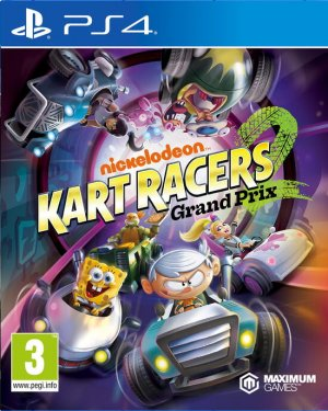 Cover Nickelodeon Kart Racers 2: Grand Prix (PS4)