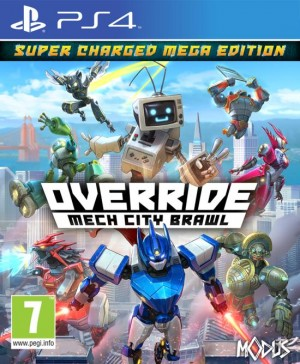 Cover Override: Mech City Brawl (PS4)