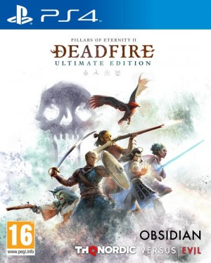 Cover Pillars of Eternity II: Deadfire (PS4)