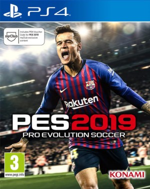 Cover Pro Evolution Soccer 2019