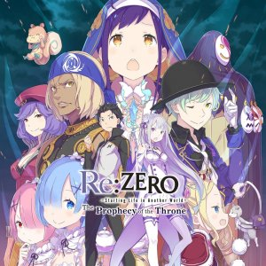 Cover Re:ZERO - Starting Life in Another World: The Prophecy of the Throne (PS4)