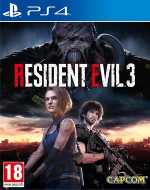 Cover Resident Evil 3 (PS4)