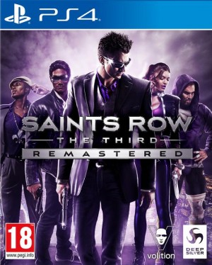 Cover Saints Row: The Third Remastered