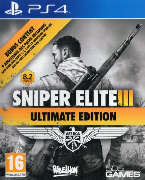 Cover Sniper Elite III: Ultimate Edition (PS4)