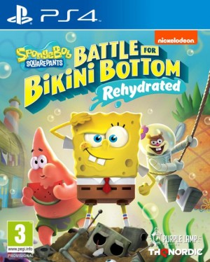 Cover SpongeBob SquarePants: Battle for Bikini Bottom - Rehydrated