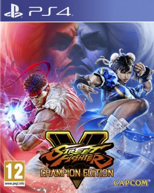 Cover Street Fighter V: Champion Edition (PS4)