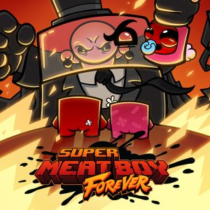 Cover Super Meat Boy Forever