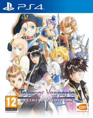 Cover Tales of Vesperia: Definitive Edition (PS4)