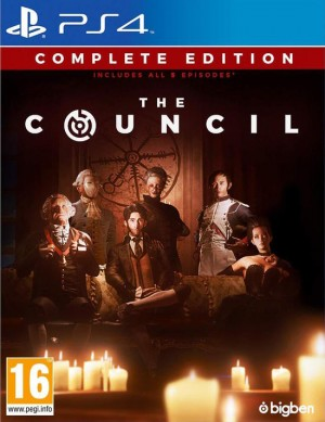 Cover The Council (PS4)