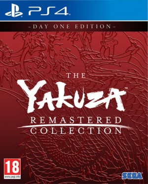 Cover The Yakuza Remastered Collection (PS4)