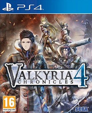 Cover Valkyria Chronicles 4 (PS4)