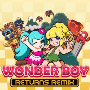 Cover Wonder Boy Returns Remix