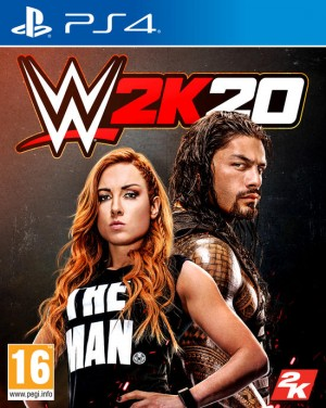Cover WWE 2K20 (PS4)