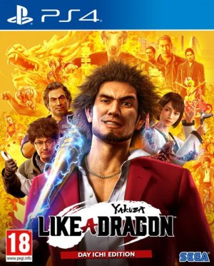 Cover Yakuza: Like a Dragon (PS4)