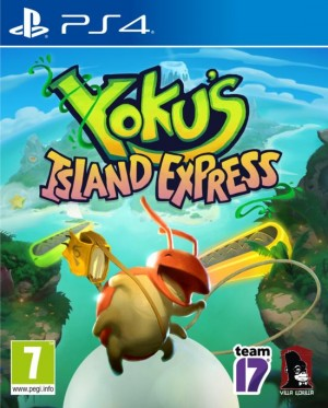 Cover Yoku's Island Express (PS4)