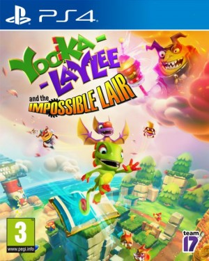 Cover Yooka-Laylee and the Impossible Lair (PS4)