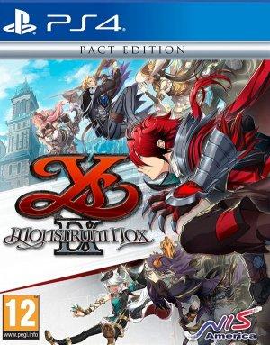 Cover Ys IX: Monstrum Nox