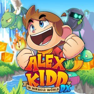 Cover Alex Kidd in Miracle World DX