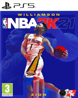 Cover NBA 2K21 (PS5)