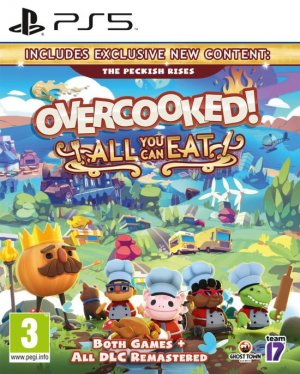 Cover Overcooked! All You Can Eat