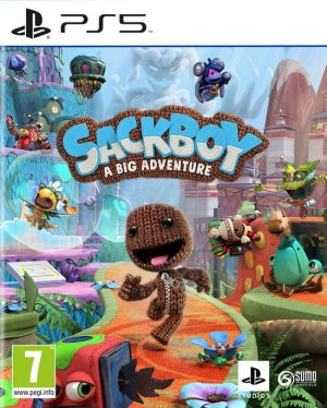 Cover Sackboy: A Big Adventure (PS5)