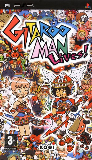 Cover Gitaroo Man Lives!