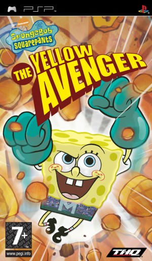 Cover SpongeBob Squarepants: The Yellow Avenger