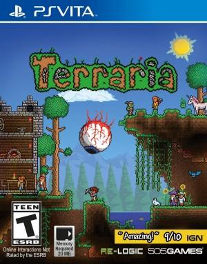 Cover Terraria (PS Vita)