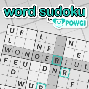 Cover Word Sudoku by POWGI